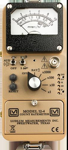 Model 12 4 Ludlum Measurements Inc