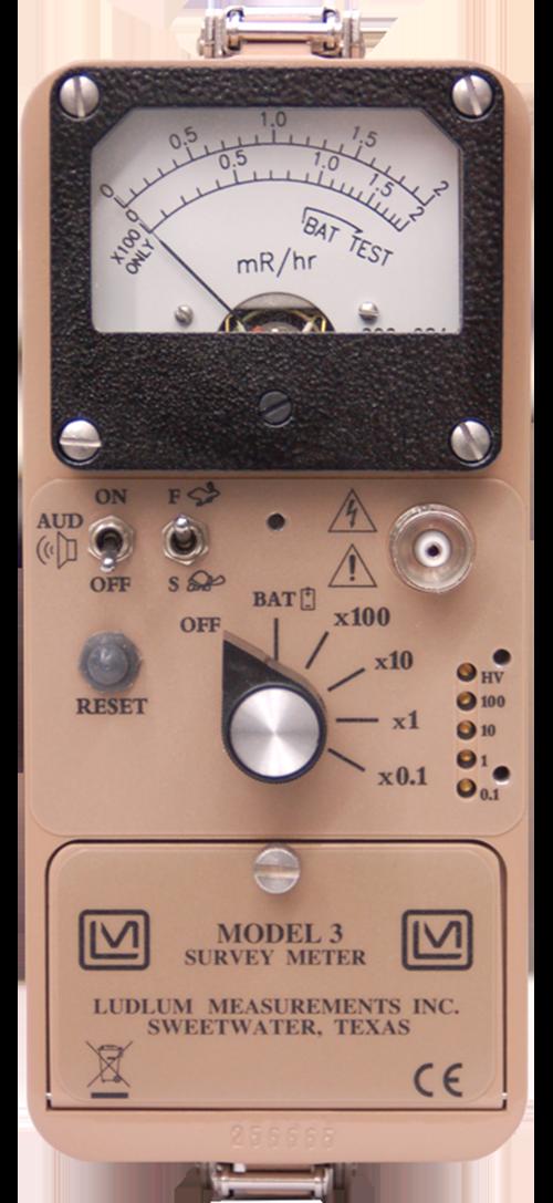 Model 3 General Purpose Survey Meter