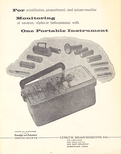1963 Ludlum Catalog Cover