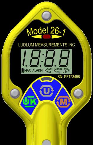 Model 26 1 Ludlum Measurements Inc