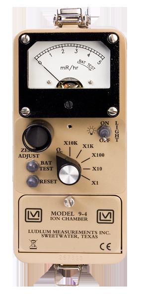 Model 9 4 Ludlum Measurements Inc
